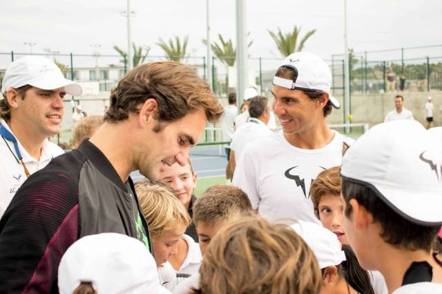 Inaugurazione Accademia Tennis Nadal Mallorca