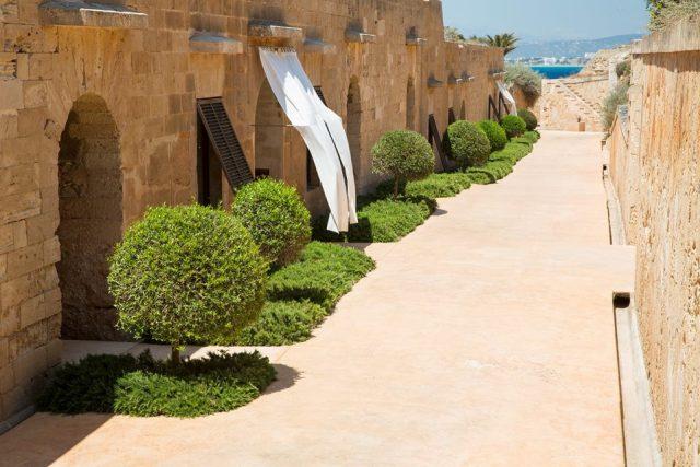 Interno dell'Hotel Cap Rocat - Maiorca