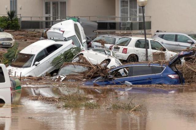 Alluvione a Mallorca - Sant Llorenç des Cardassar