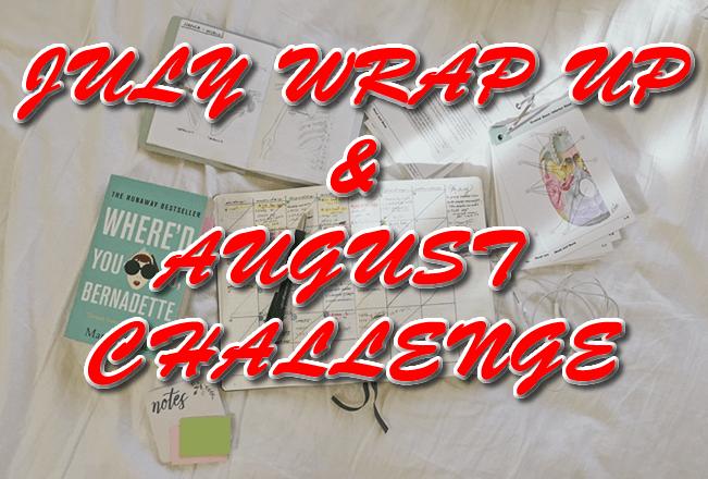 Wrap Up, юли 2017 & предизвикателство за август