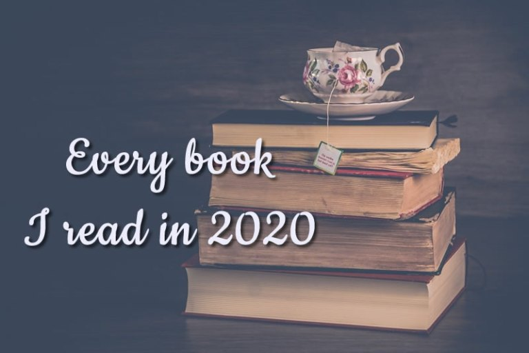 Every book I read in 2020