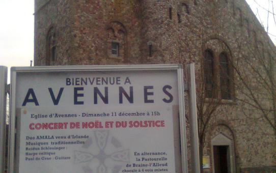Christmas concert in Belgium