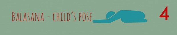 Balasana - Childs pose - Yoga Stretches For Runners - Park run Middlesbrough Stockton Teesside