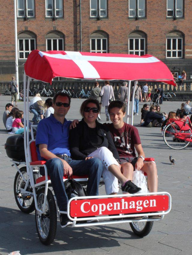 downtown Copenhagen, Denmark, Baltic