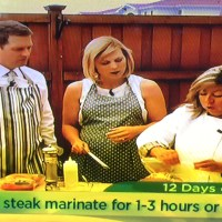 Chef Amalia Moreno-Damgaard at Twin Cities Live's 12 Days of Grilling