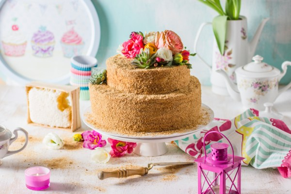 honey cake food styling and photography Amalija Andersone photography