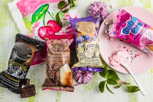ēdienu foto Amalija Andersone Zemnieku Saldējums