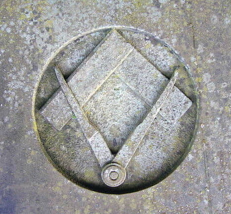 very old square and compasses upside down FINAL