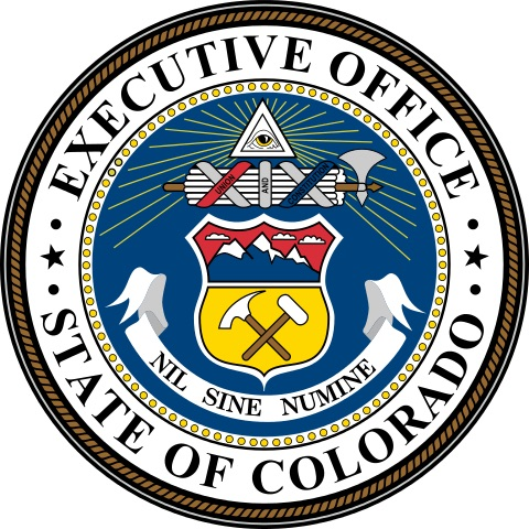 Seal of the Executive Office of Colorado