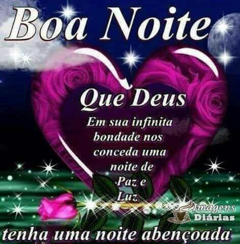Boa noite de coração e carinho para você! linda mensagem para dormi bem.