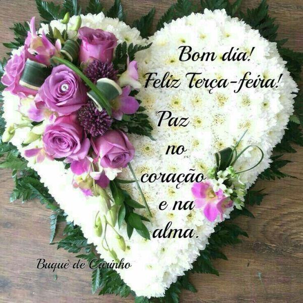 Feliz terça-feira com paz no coração