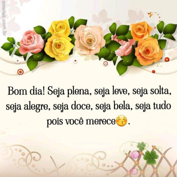 Bom dia alegre para whatsapp e amigas