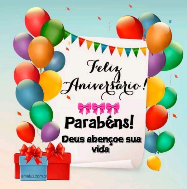 Deus abençoe sua vida nesse lindo dia feliz aniversário