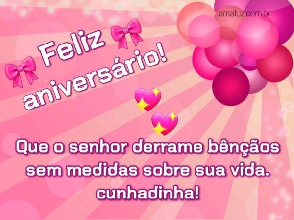 Feliz aniversário que o Senhor derrame chuvas de bênçãos sobre sua vida