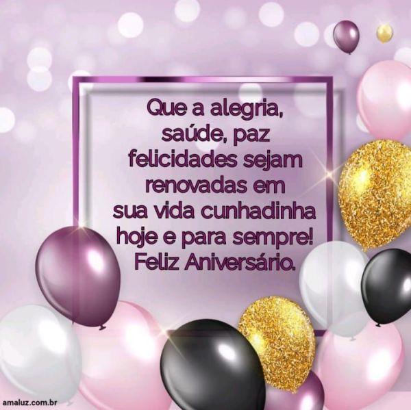 Feliz aniversário que o Senhor te abençoe hoje é sempre