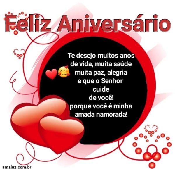 Feliz aniversário te desejo muita paz amor saúde que Deus cuide de você
