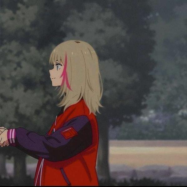 belas imagens de metadinhas com anime