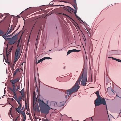 metadinha de anime para usar com melhor amiga