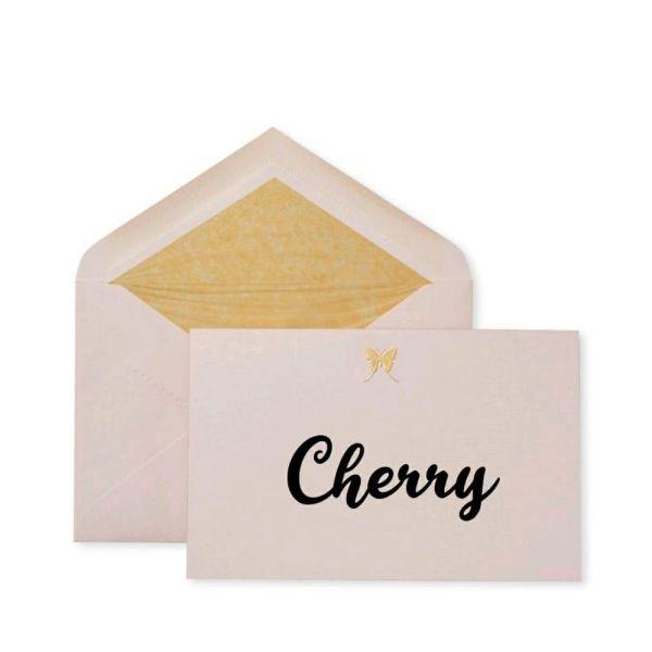 Cherry um nome para arrazar