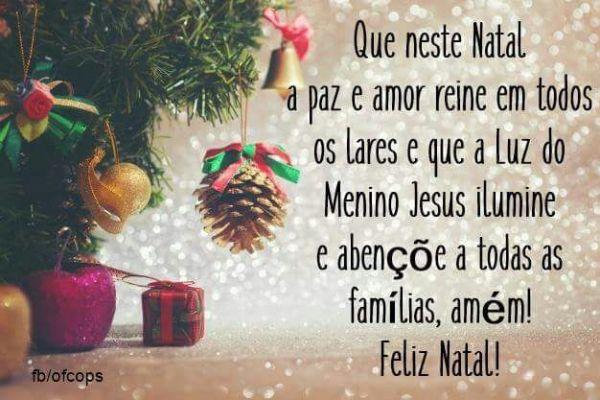 Feliz natal para toda família