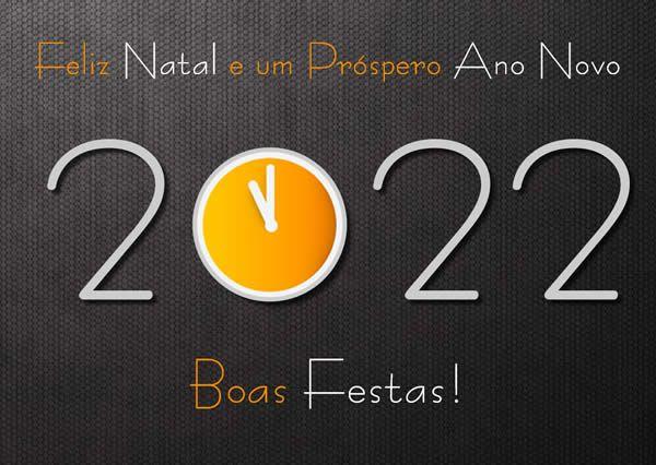 Imagem para desejar feliz natal e feliz ano novo de boas festas