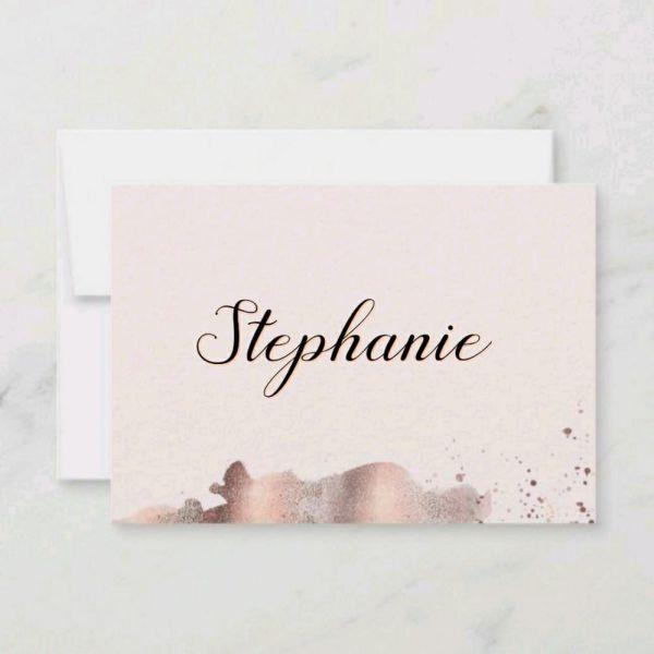 Stephanie um lindo nome usando varias letras bonitas
