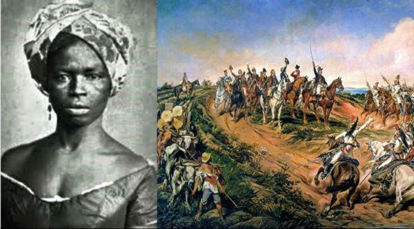 escrava mulher que participo da independência