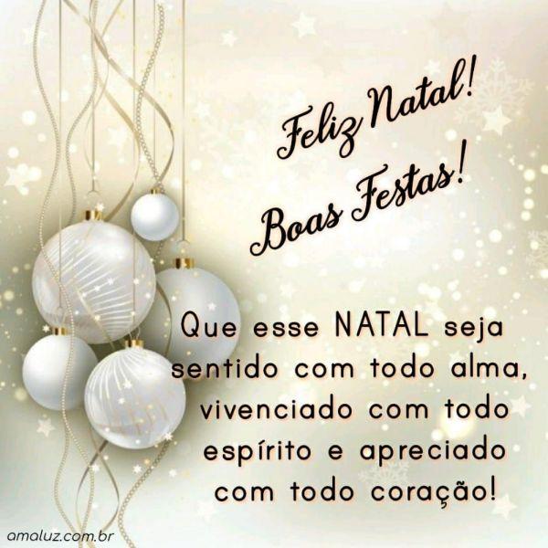 que esse natal seja sentido com toda alma feliz natal e boas festas