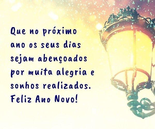 que seu proximo ano seja abençoado com alegria feliz ano novo