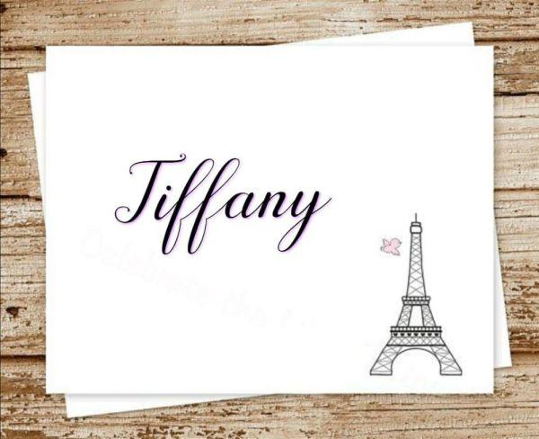 tiffany um lindo nome que ficaria lindo com sua filha