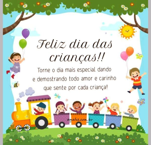 torne esse dia mais especial feliz dia das crianças