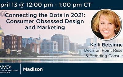 Connecting the Dots in 2021: Consumer Obsessed Design and Marketing