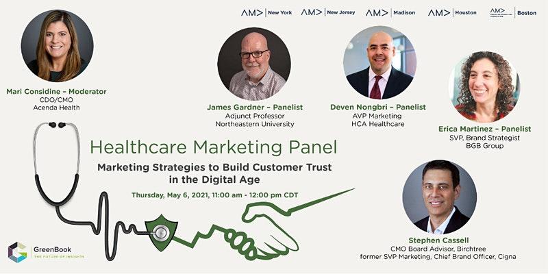 Healthcare Marketing Panel – Build Customer Trust in the Digital Age