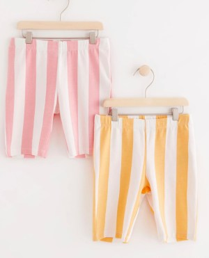 2-pack bike shorts with stripes