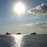 2018年amami ainaカタログ撮影風景③「奄美大島の最西端 西古見」