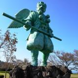 鳥取県大山町「仁王堂公園」カラス天狗が目印!海も山も見渡せる気持ちのいい公園です