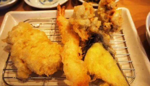 倉敷市「てんぷら一代」揚げたてサクサク!ボリュームたっぷりの鶏天定食がおすすめ