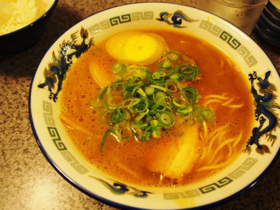 にぼし家 煮卵ラーメン