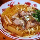 鴨方町 麺屋晴レ 塩ラーメン