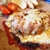笠岡市「鉄板焼き一本松」ランチの絶品チーズハンバーグ定食をいただきました!やっぱコスパ最高です