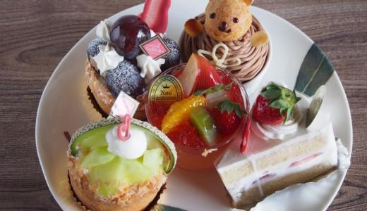 倉敷市新倉敷「パティスリー ラ・ビッシュ」季節の果物が盛りだくさん!新倉敷のかわいいケーキ屋さん