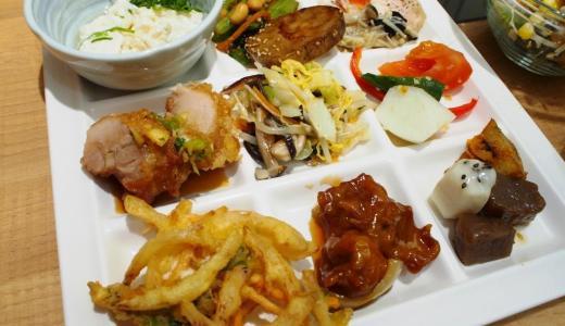 倉敷市「露菴新倉敷店」困ったときは安定の露菴!野菜たっぷり、和食が嬉しいバイキング