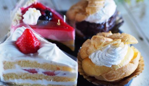 倉敷市玉島「洋菓子のなかの」クリームあふれるシュークリームが好き!心が和むケーキ屋さんです