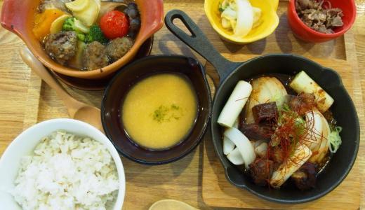 イオンモール倉敷「麦とろ屋たんくら」おなか満足牛たんランチ!野菜たっぷりポトフのコンビセットがおすすめ