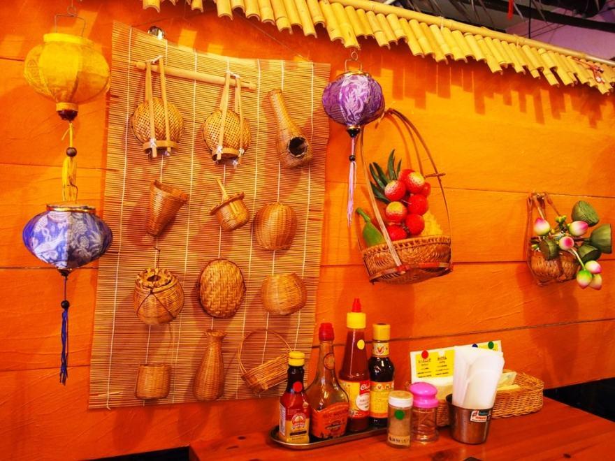 福山 ベトナム料理アオババ 店内