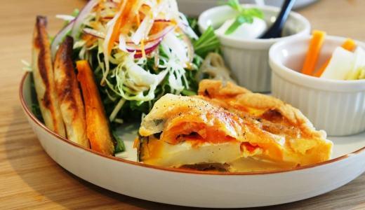 倉敷市「QINOCO(キノコ)」サクサクキッシュが美味しすぎる!アウトレット近くのおしゃれカフェ