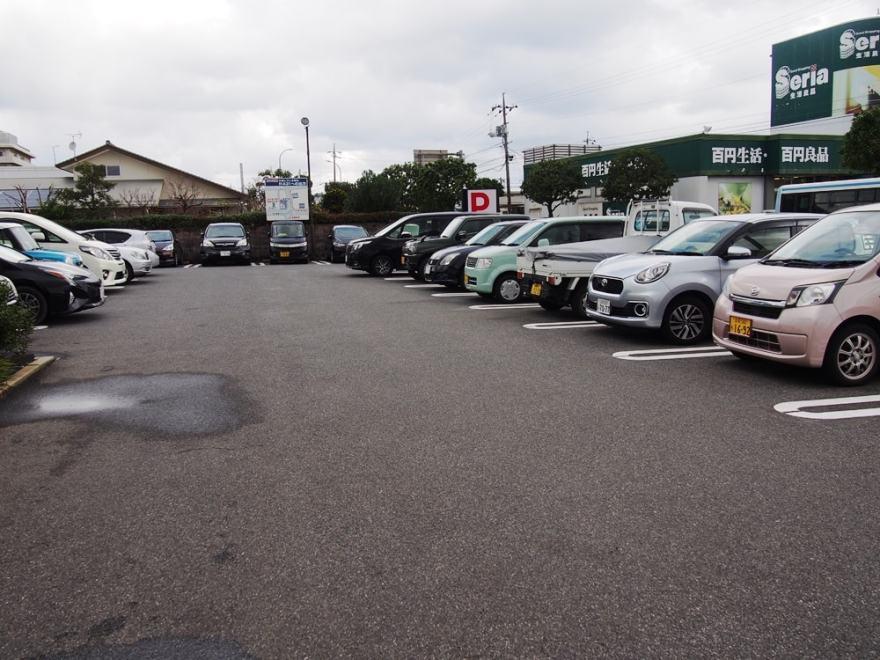 回転すし北海道 皆生店 駐車場