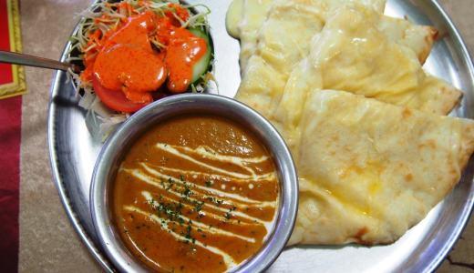 倉敷市玉島「インドダイニングカフェマター」クセになる美味しさのインドカレー!とろとろチーズナンが最高