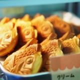 倉敷市「たい焼本舗」新しい倉敷名物!?ふわふわのワッフルたい焼食べてみて!