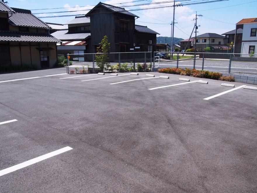 倉敷市 カフェイド 駐車場
